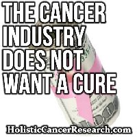 The Cancer Industry Does Not Want a Cure