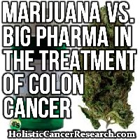 Marijuana Verses Leading Pharmaceuticals In The Treatment of Colon Cancer