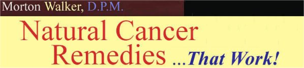 natural cancer remedies