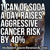 1 Can of Soda a Day Raises Aggressive Cancer Risk By 40%